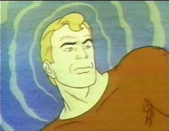 Aquaman with waves