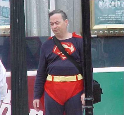 Superman wannabe