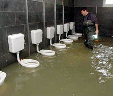 Caption Contest Flooded Bathroom Buffet O Blog - Flooded bathroom
