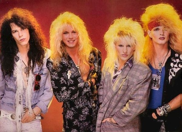 hair bands from the '80s, 1