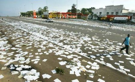 papers on ground everywhere