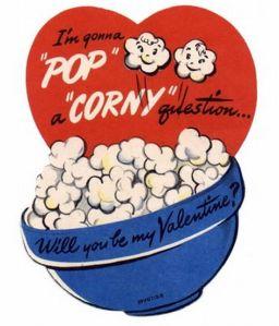 Valentine's Day card - vintage, 04